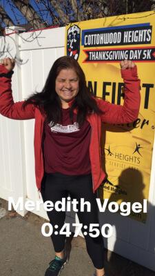 Meredith Vogel Virtual Result Proof