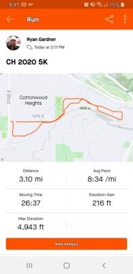 Ryan Gardner Virtual Result Proof