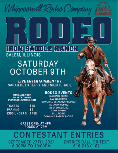 October Rodeo Flyer
