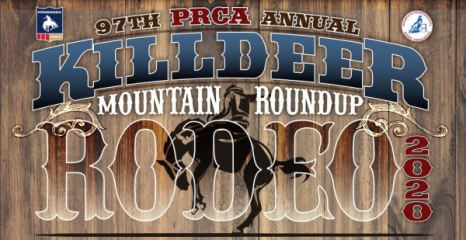97th PRCA Killdeer Mountain Annual Roundup registration logo