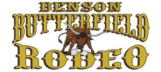 Benson Butterfield Rodeo registration logo
