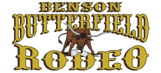 Benson Butterfield Rodeo registration logo