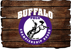 Buffalo PRCA Championship Rodeo registration logo
