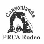 Canyonlands PRCA Rodeo registration logo
