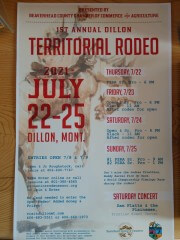 First Annual Territorial Rodeo Days registration logo