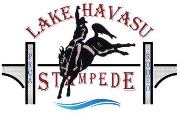 Lake Havasu Stampede PRCA Rodeo registration logo