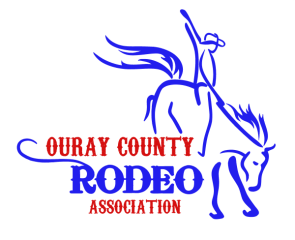 Ouray County Labor Day Rodeo registration logo