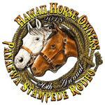 Pana'ewa Stampede Rodeo registration logo