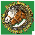 Pana'ewa Stampede Rodeo registration logo