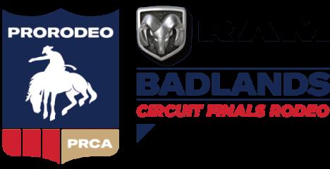 PRCA Badlands Circuit Finals registration logo