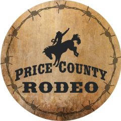 Price County PRCA Rodeo registration logo