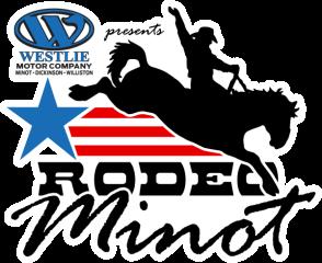 Rodeo Minot registration logo