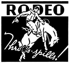 Springhill PRCA Rodeo registration logo