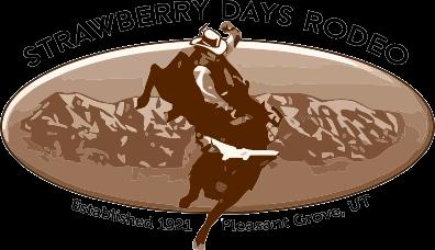Strawberry Days Rodeo registration logo