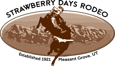 Strawberry Days Rodeo registration logo
