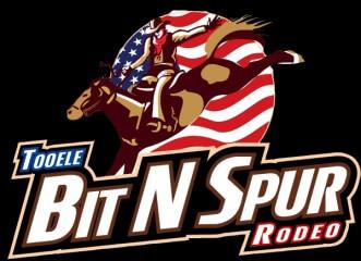 Tooele Bit n' Spur Rodeos registration logo