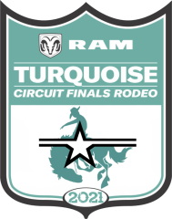 Turquoise Circuit Finals Rodeo registration logo