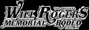 Will Rogers Memorial Rodeo registration logo