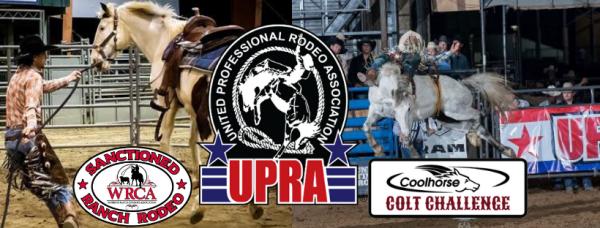 Will Rogers Range Riders Rodeo registration logo