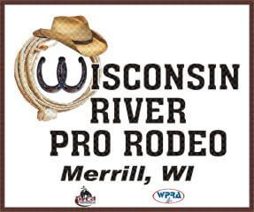 Wisconsin River Pro Rodeo registration logo