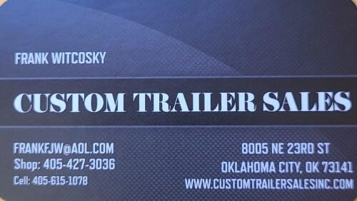 Custom Trailer Sales logo