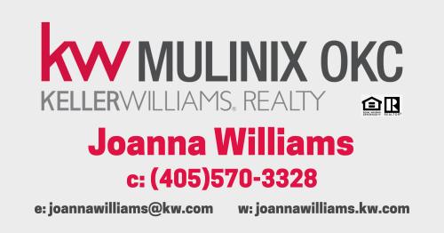 Keller Williams Realty Mulinix - Joanna Williams logo