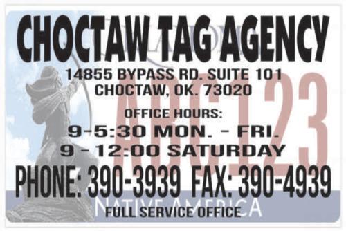 Choctaw Tag Agency logo