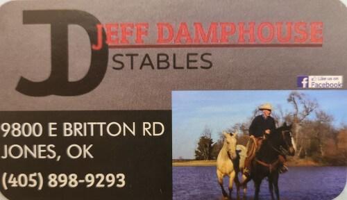Jeff Damphouse Stables logo