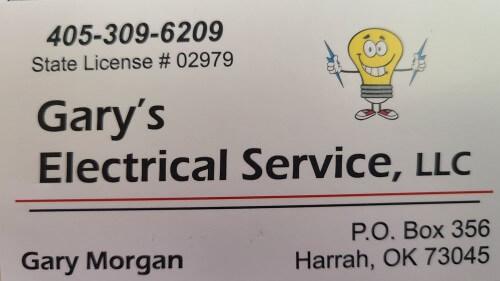 Gary's Electric LLC logo