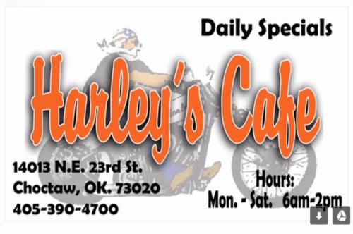Harley's Cafe logo