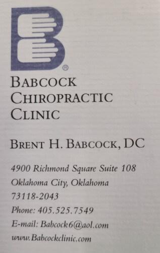 Babcock Chiropractic Clinic logo