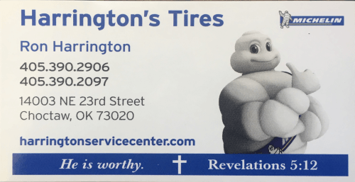 Harrington's Tire Center logo