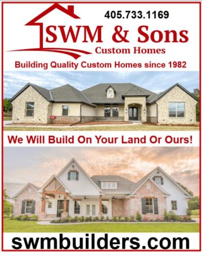 SWM & Son's Custom Homes logo