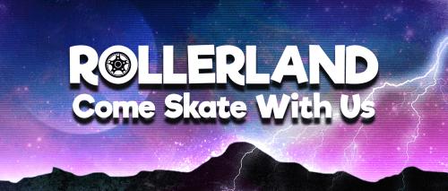 Rollerland Skate Rink logo