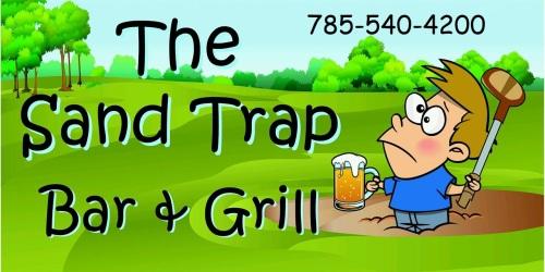 The Sand Trap Bar & Grill logo