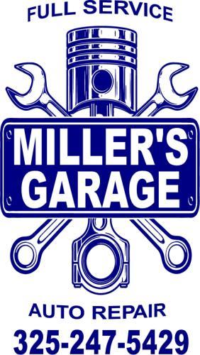 Miller's Garage logo