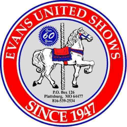 Evans United Shows logo