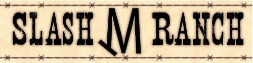 Slash M Ranch logo