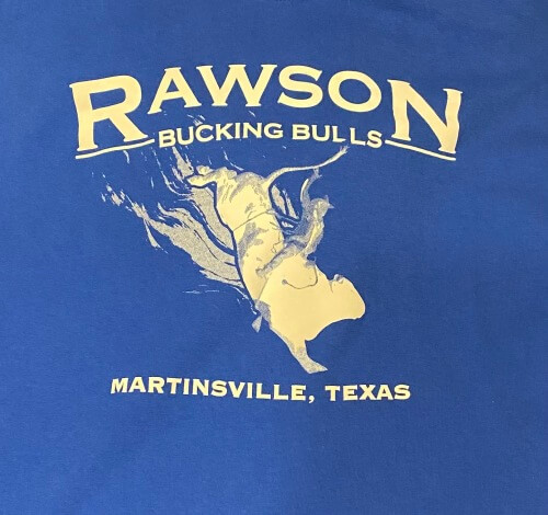 Rawson Bucking Bulls logo