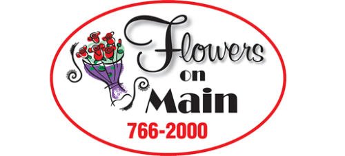 Flowers on Main logo