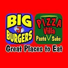 Big J Burgers & Pizza Villa logo