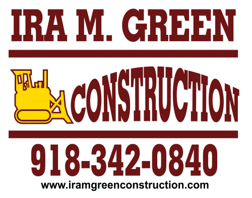 Ira Green Construction-Gold Buckle Sponsor logo