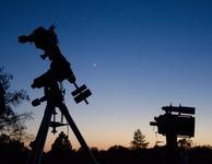 Covington park stargazing