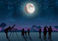 Observe the moon
