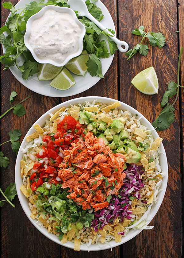 Fish Taco Bowl from SoupAddict.com