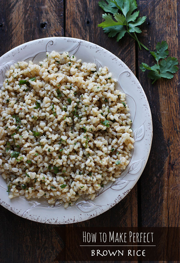 How to Make the Best Brown Rice from SoupAddict.com