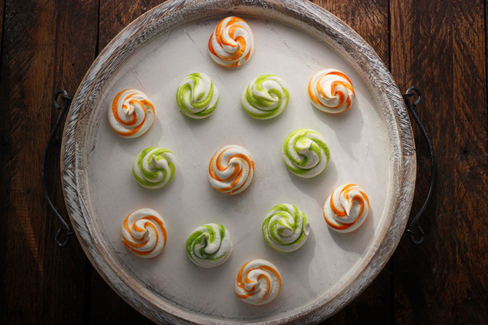 Tangerine Dream Meringue Swirls   SoupAddict.com