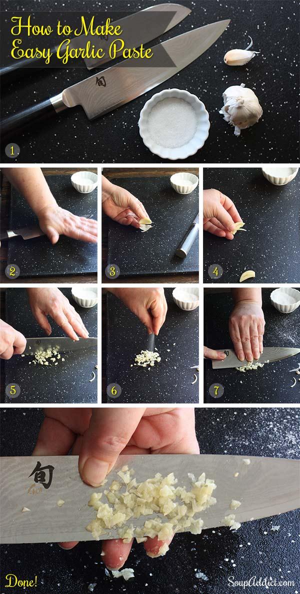 Southwest Broccoli Queso Chowder + How to Make Garlic Paste | SoupAddict.com