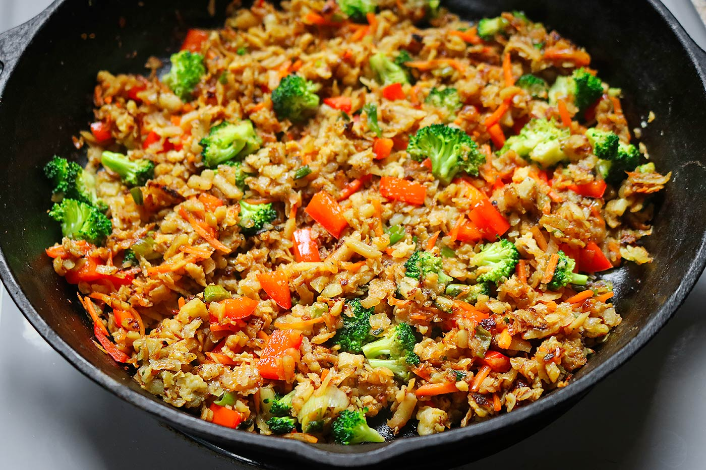 Sweet Potato Fried Rice Stir Fry Soupaddict