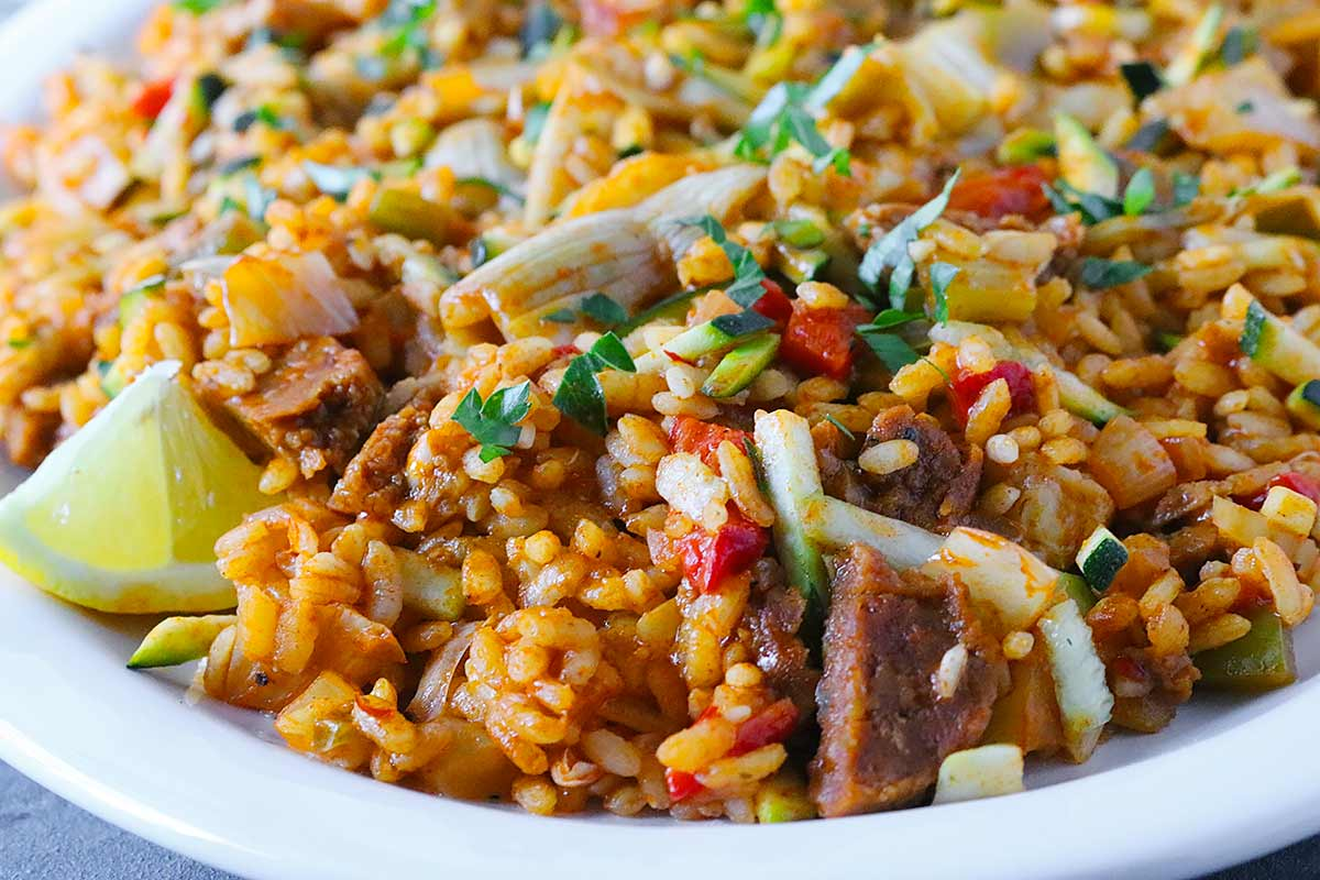 Vegetarian Paella from SoupAddict.com